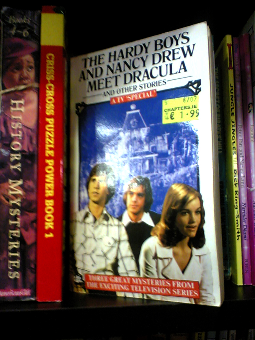 Chapters The Hardy Boys and Nancy Drew meet Dracula