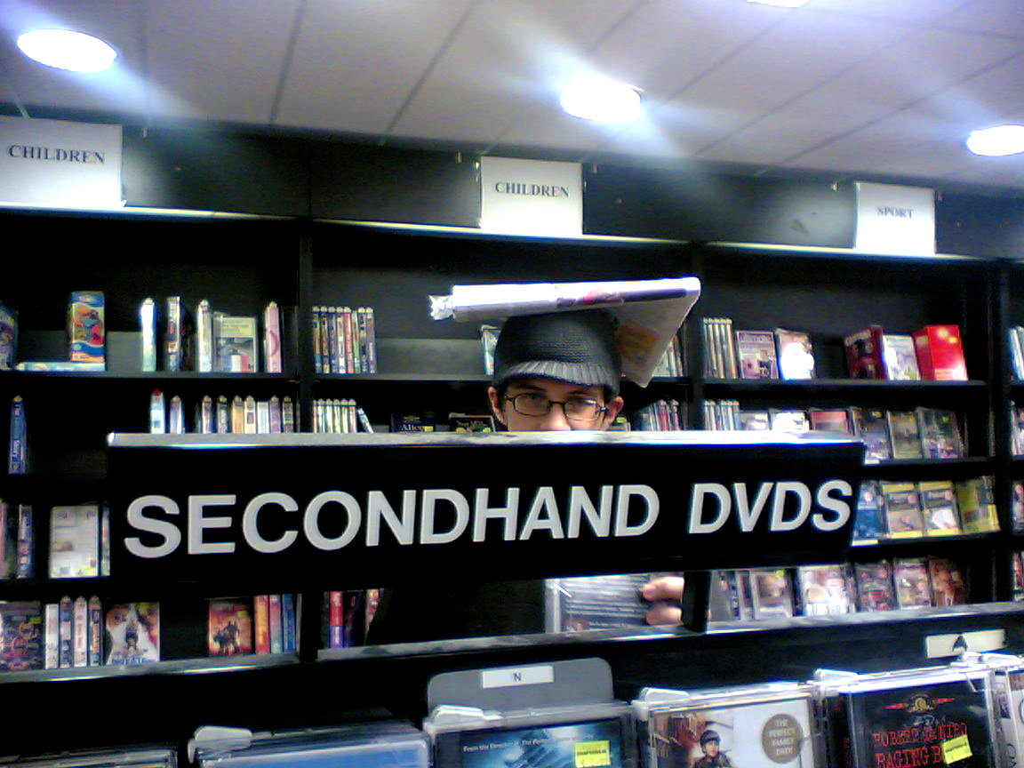 Chapters secondhand dvds