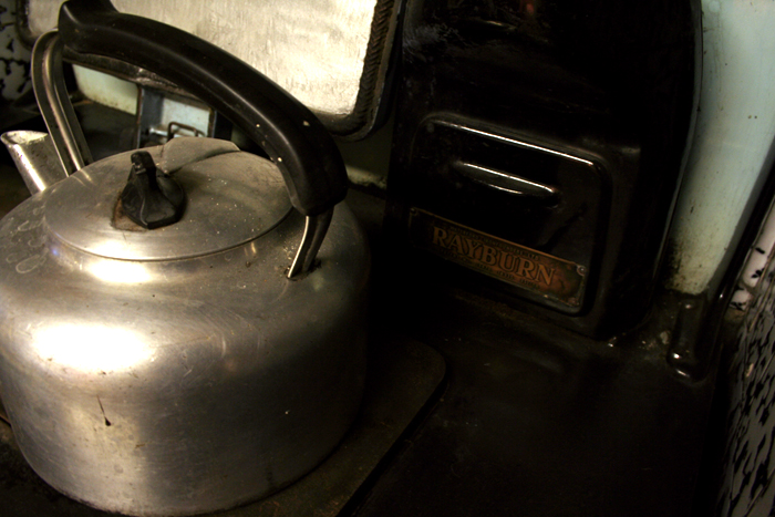 Rayburn kettle