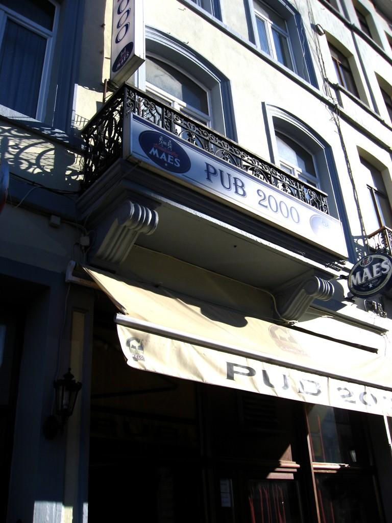 Brussels pub 2000