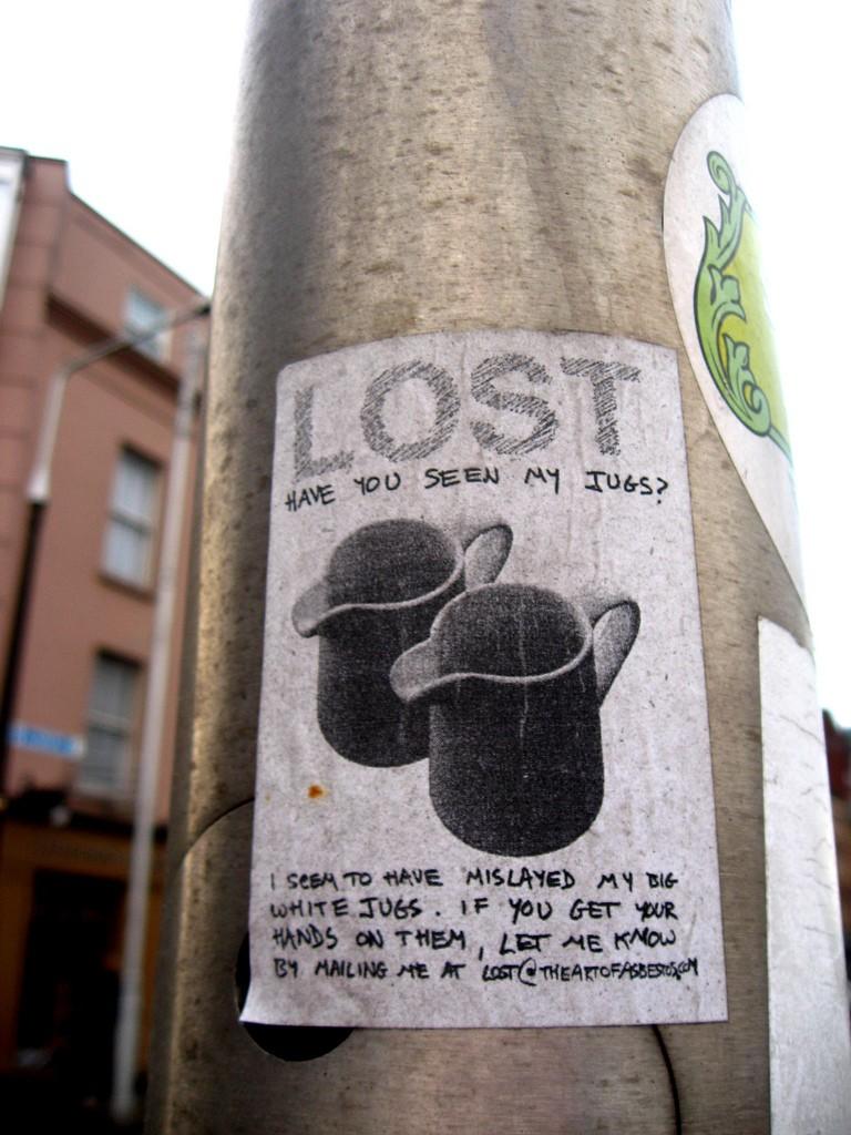 Lost jugs