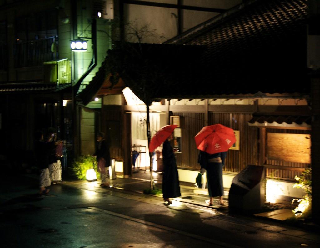 Kinosaki-onsen diners