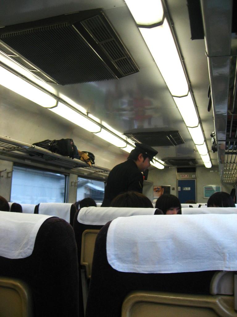 Kinosaki-onsen train