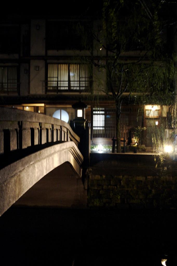 Kinosaki-onsen bridge