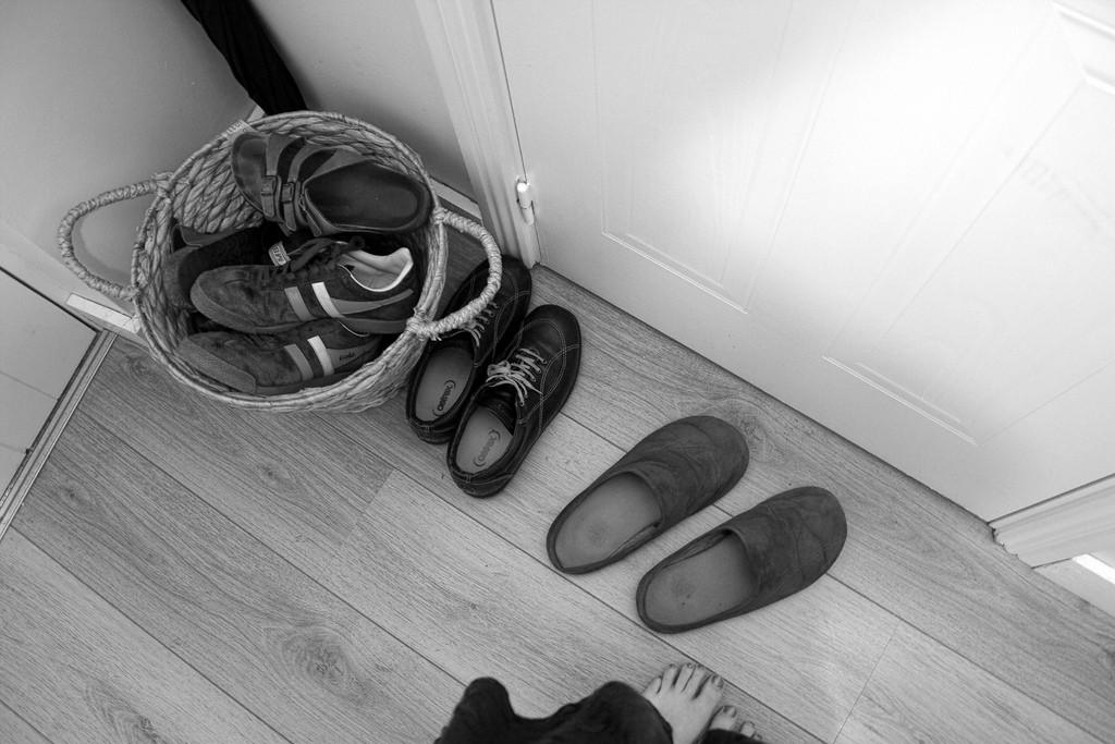Shoes and feet