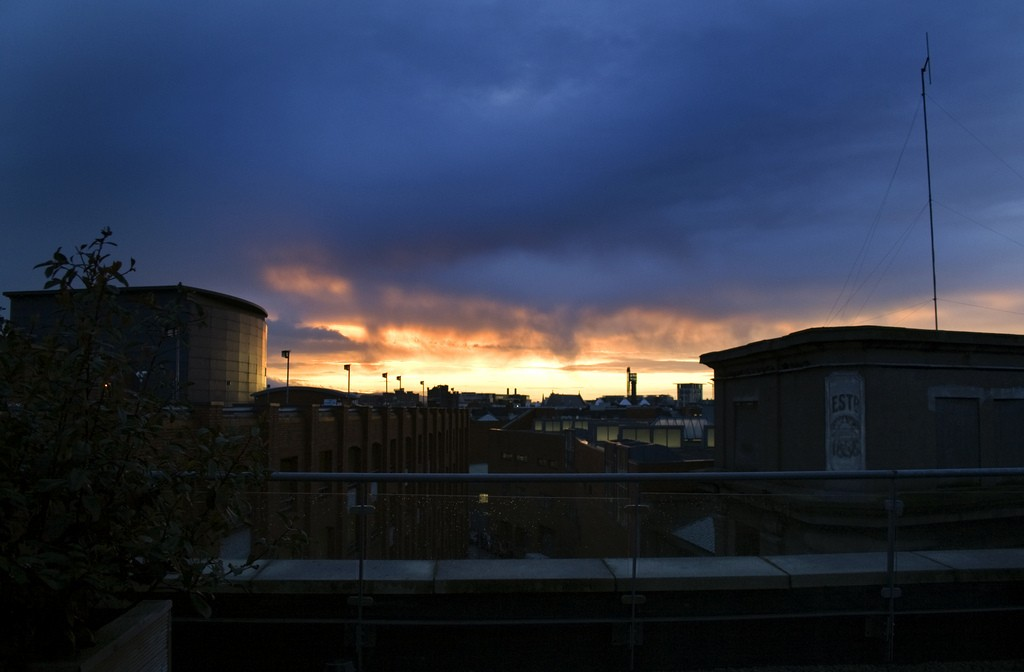 Sunset Dublin 1
