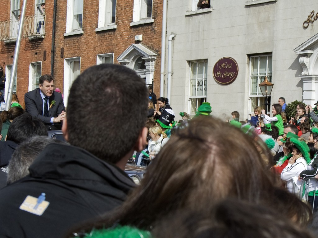 Packie Bonner St Patrick's Day