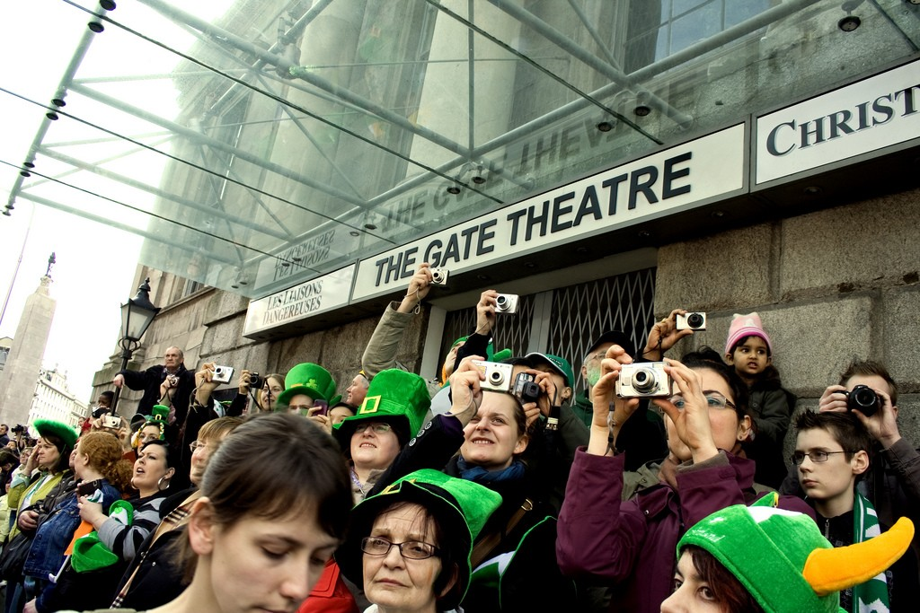The Gate Theatre Cameras St Patrick's Day