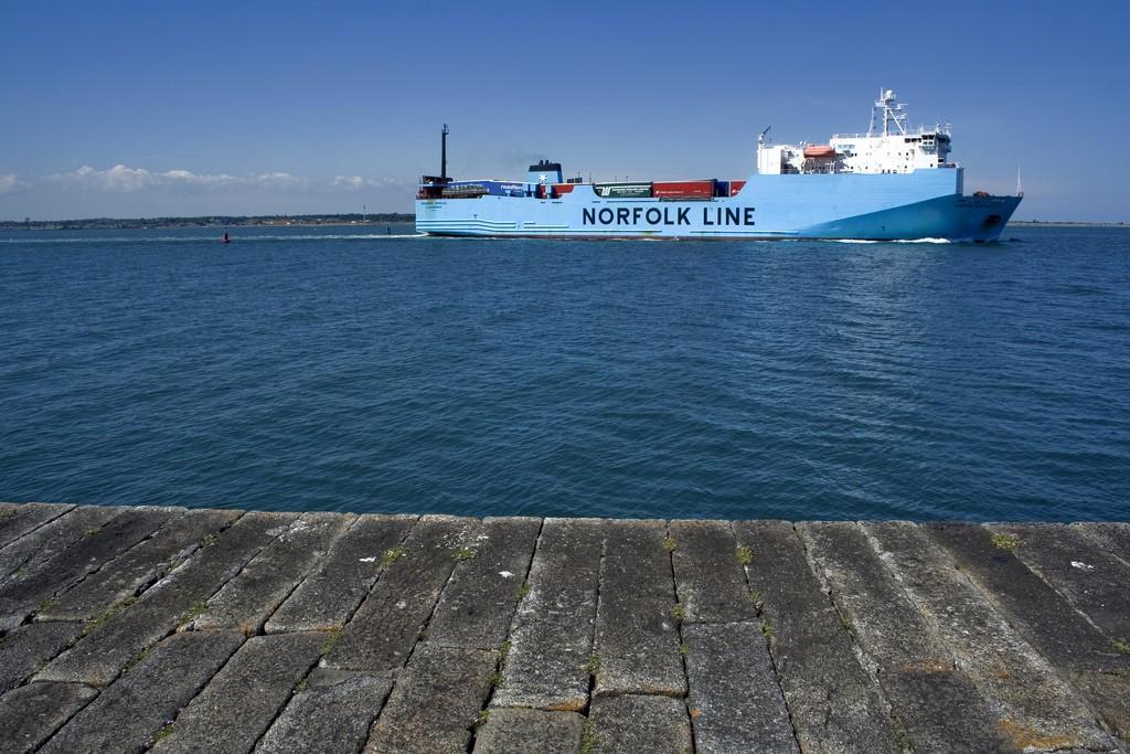 Norfolk line boat