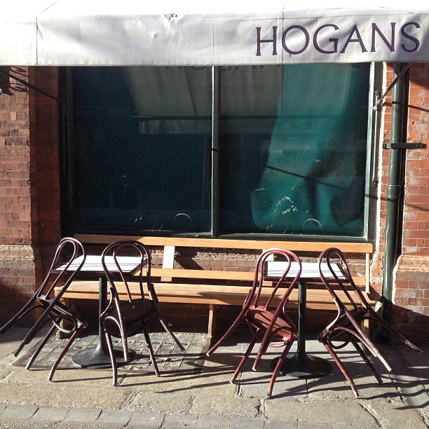 All set for the day at Hogan's