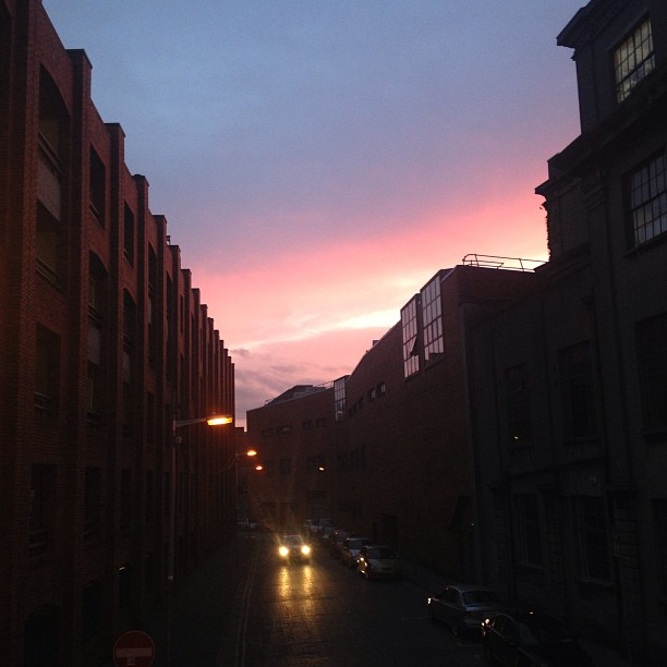 Pink-sky-over-Loftus-Lane-blog-nofilter