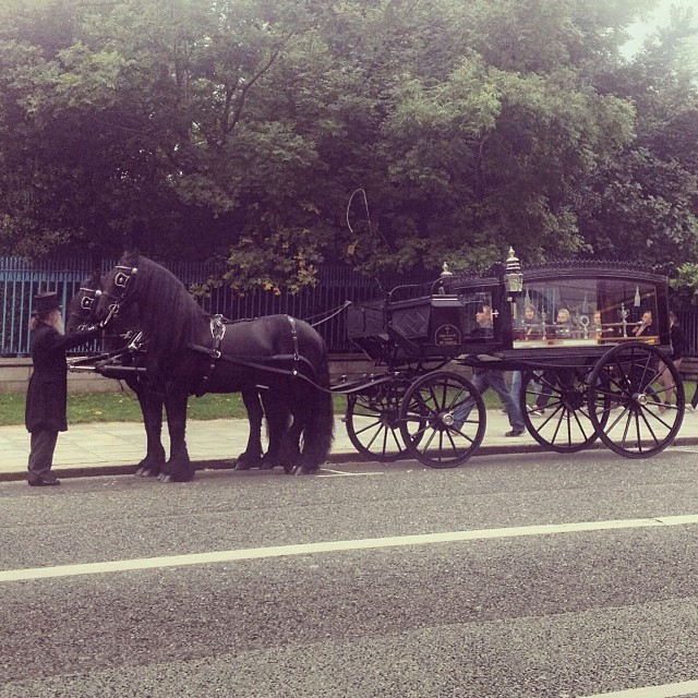 Old Hearse, Parnell Square