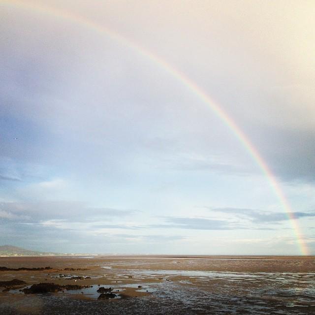 Rainbow at the Rawk