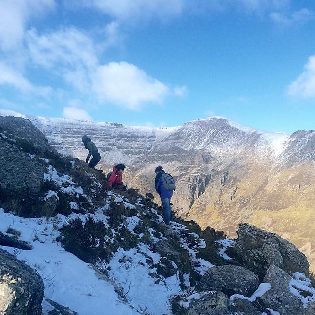 Coumshingaun #blog #waterford #ireland #instaireland #snow #hiking