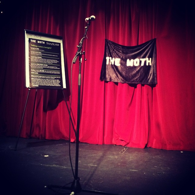 Fun at @themoth Dublin with @hernameisorlagh