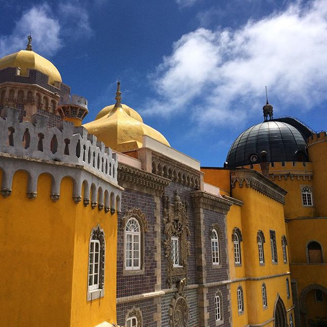 Ridiculously lovely Pena Palace