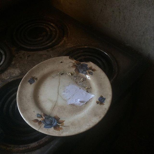 Plate #blog #leitrim #broken
