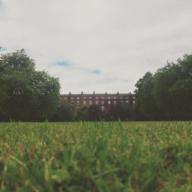 Got locked into Fitzwilliam Square... #blog #Dublin #igersdublin #instadublin