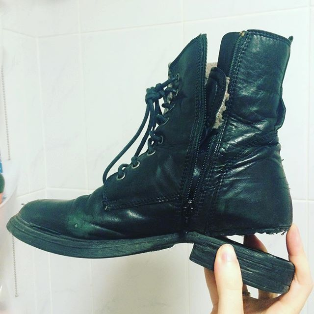 My poor boots #blog #boots #shoes
