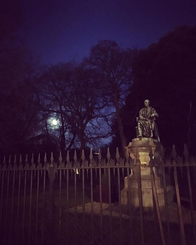 Lord Ardilaun and the moon