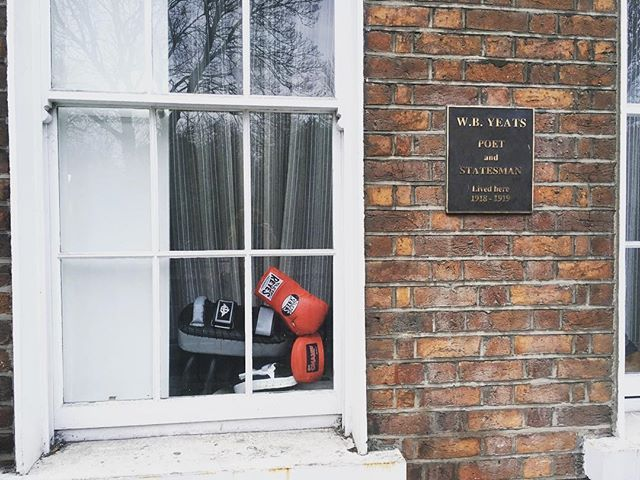 W.B. Yeats was mad for boxing #blog #dublin