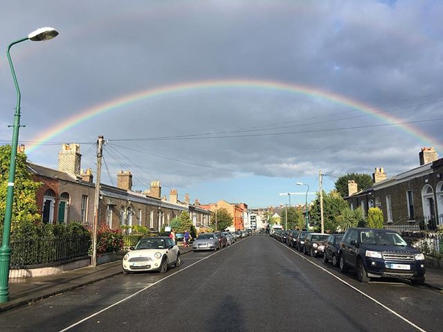 Rainbow #blog #dublin #rainbow