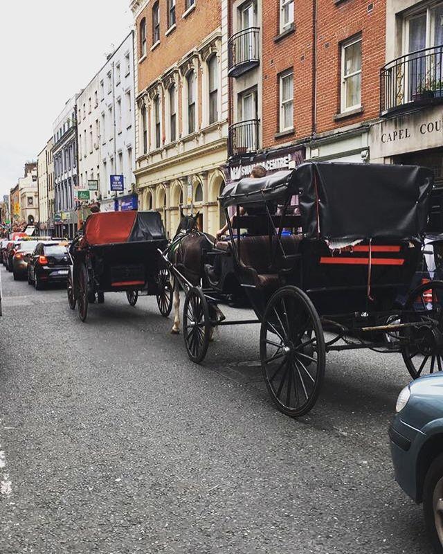 Rush hour, Capel Street #dublin #blog #capelstreet