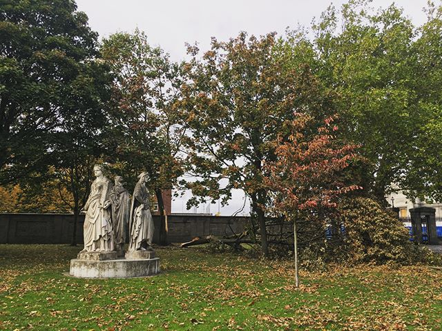 Fallen soldier in King's Inns #blog #dublin