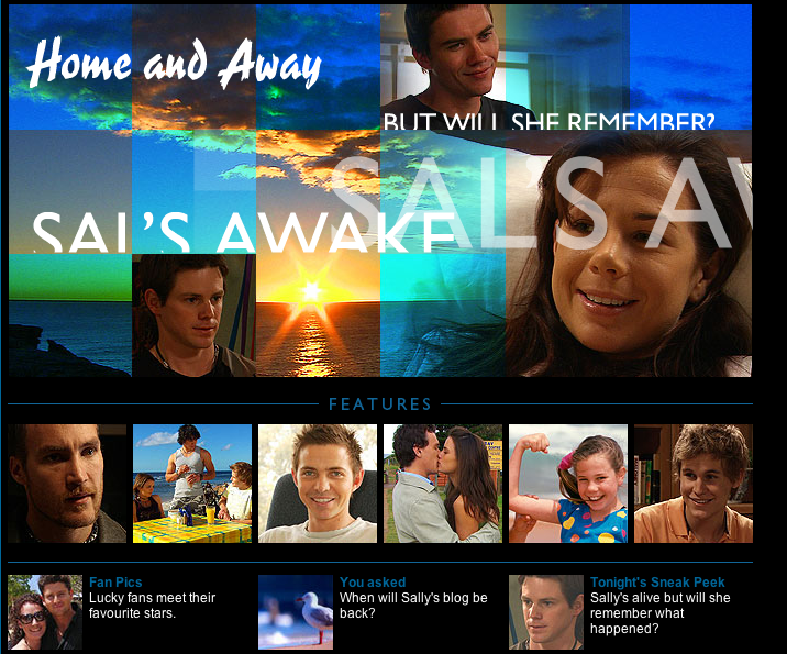 Sally Home and Away