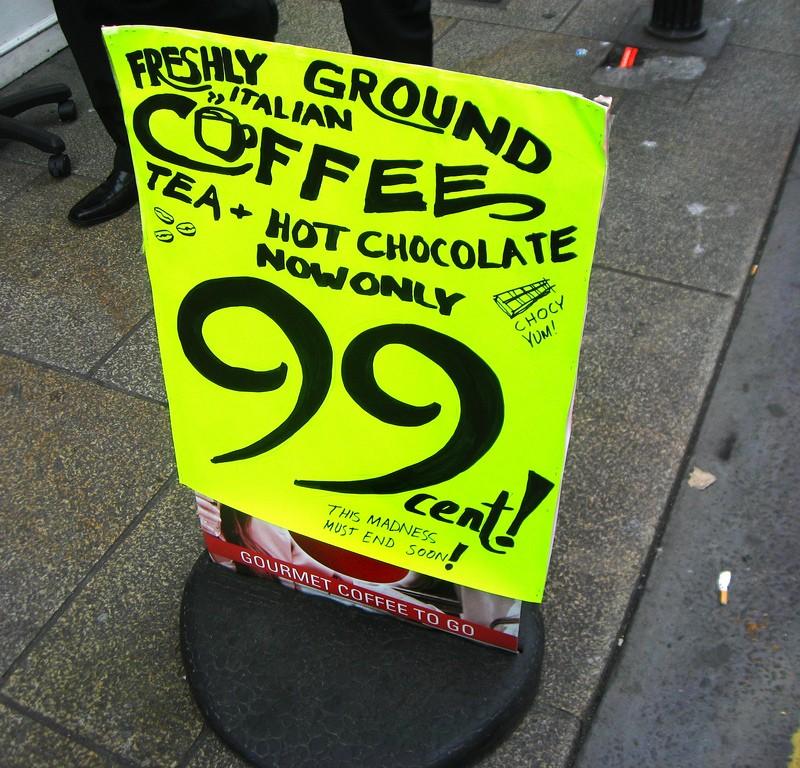 Coffee madness