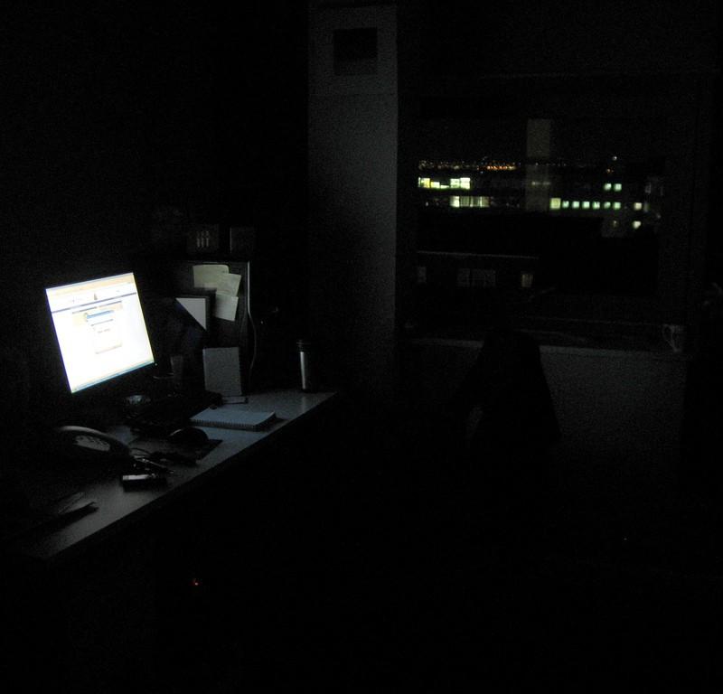 My desk in DIT