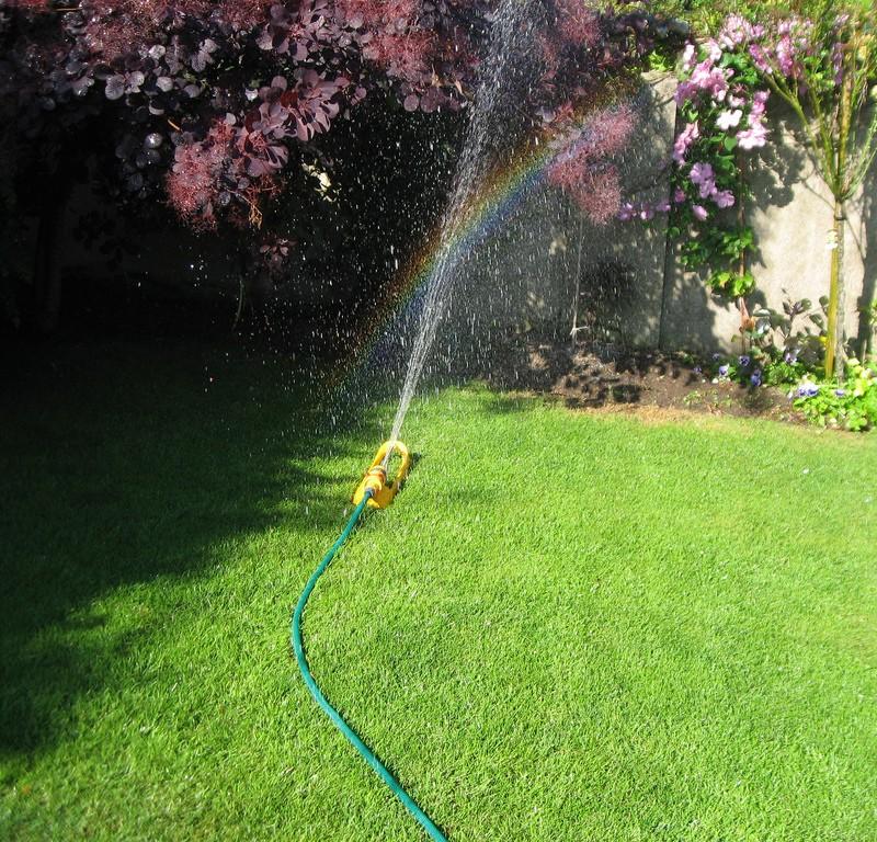 Sprinkler rainbow