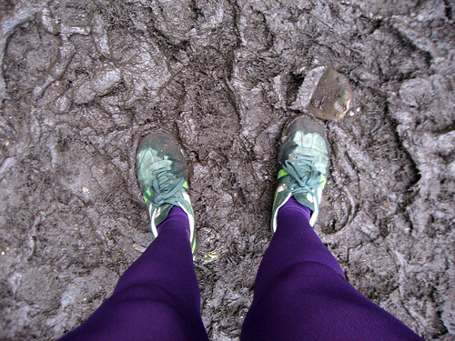 mucky legs and runners