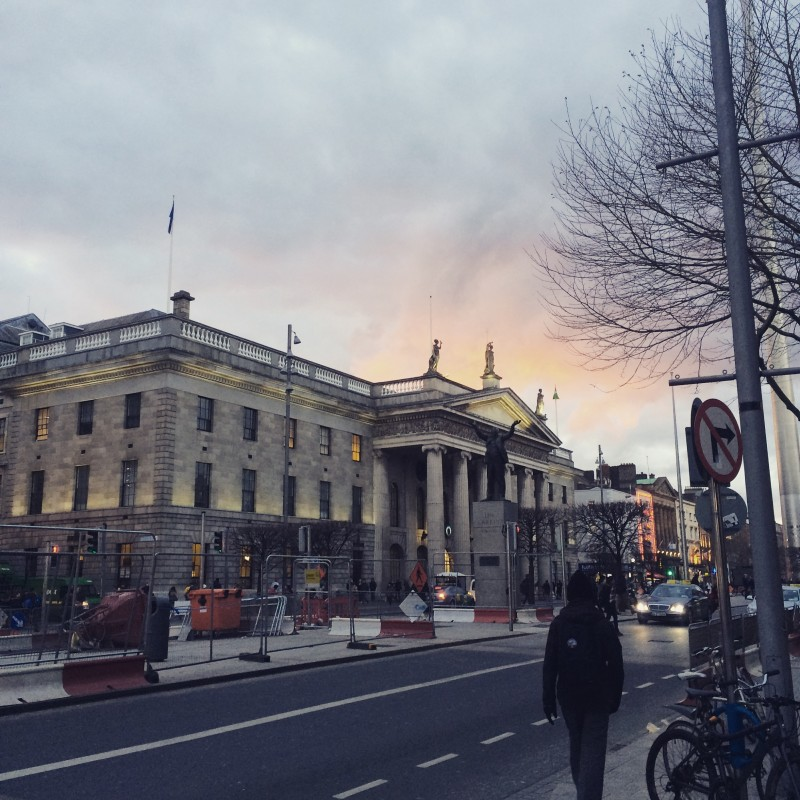 Fine evening, O'Connell Street